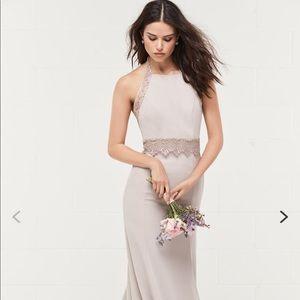 Wtoo bridesmaid style#405 color : Chateau Rose